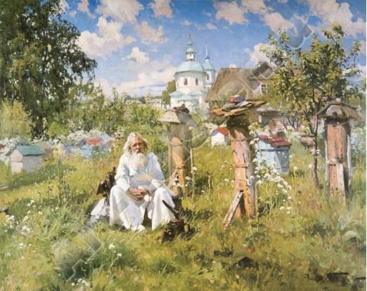 Маковский А.В. На пасеке