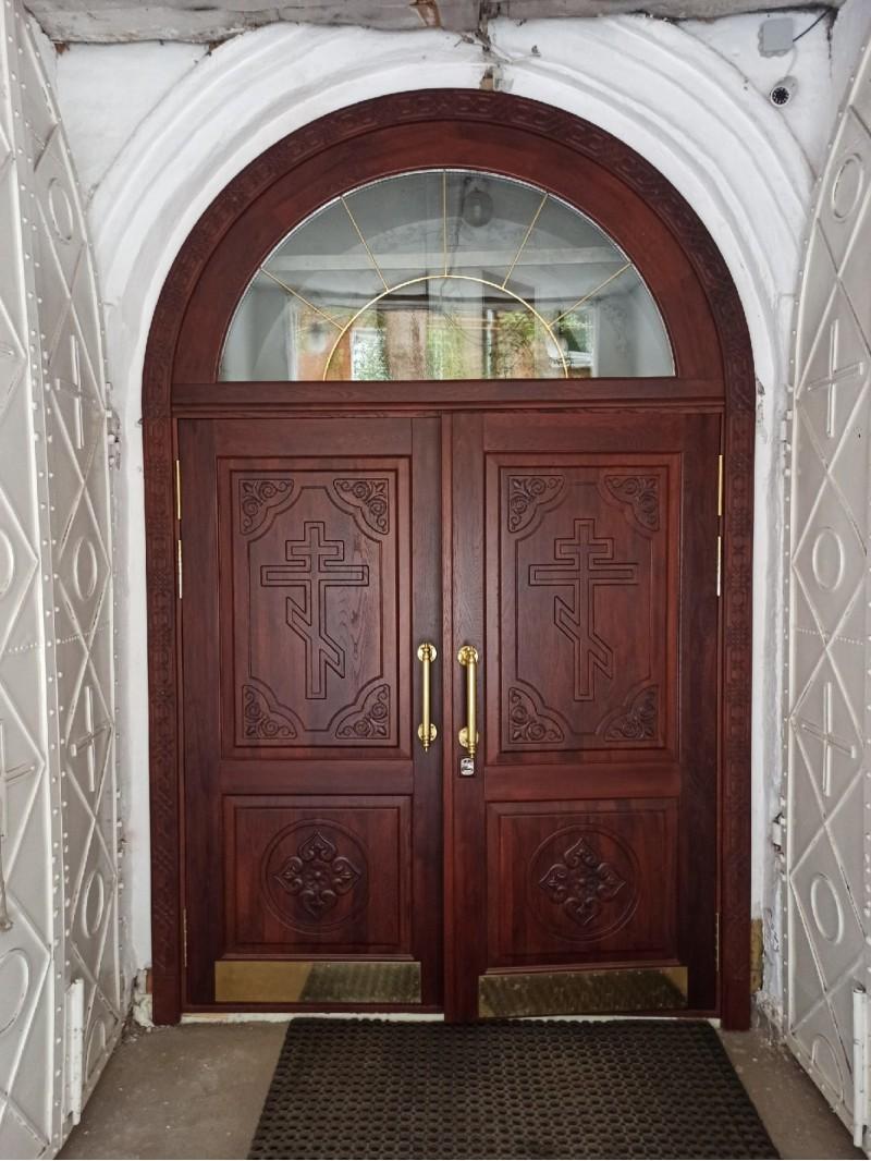 2 новая дверь