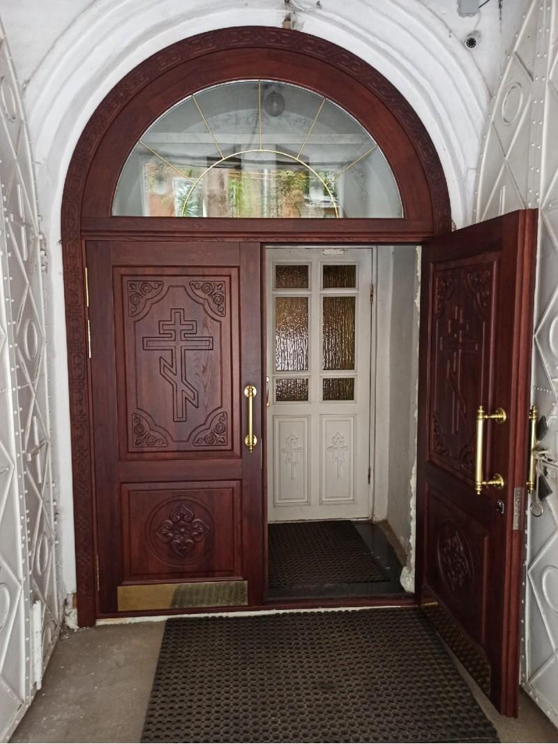 3 новая дверь