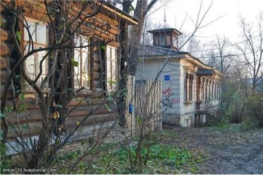 Дом архитектора Ивана Чарушина за храмом Иоанна Предтечи